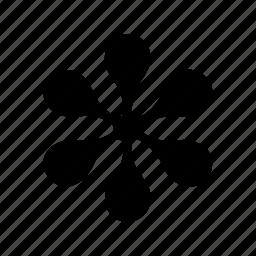 asterisk, design, eames, flower, simetric, type icon