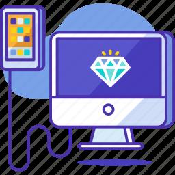 apps, design, development, mobile, optimization, programming, seo icon