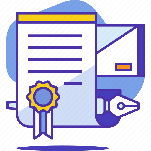 agreement, business, contract, letter, money, office, pen icon