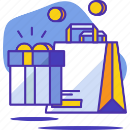 bag, buy, ecommerce, gift, online, shop, shopping icon