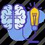 bulb, business, creativity, idea, inovation, lamp, seo icon