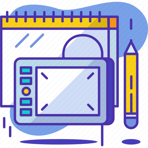 creative, design, digital, drawing, graphic, pen, tool icon