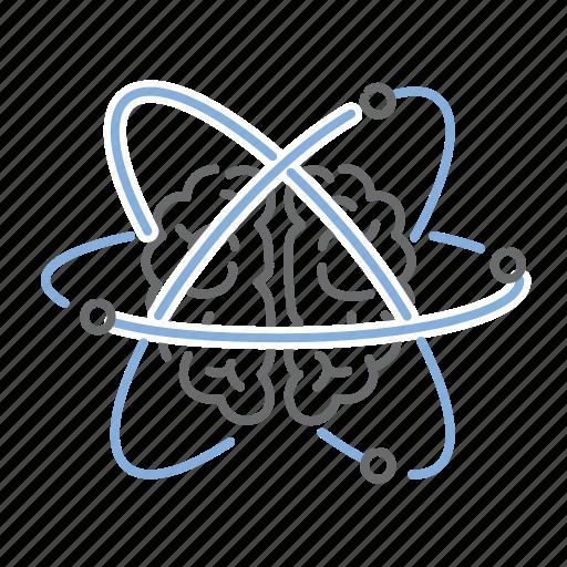 brain, brainstorming, creative, design, idea icon