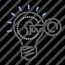 key, success, access, lock, unlock, idea