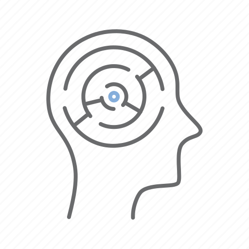 brain, mind, plan, solution, strategy icon
