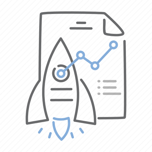 business, launch, plan, startup, strategy icon