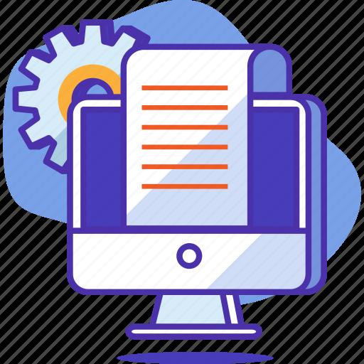 business, content, document, graph, management, page, paper icon