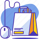 bag, business, commerce, ecommerce, marketing, online, shopping icon
