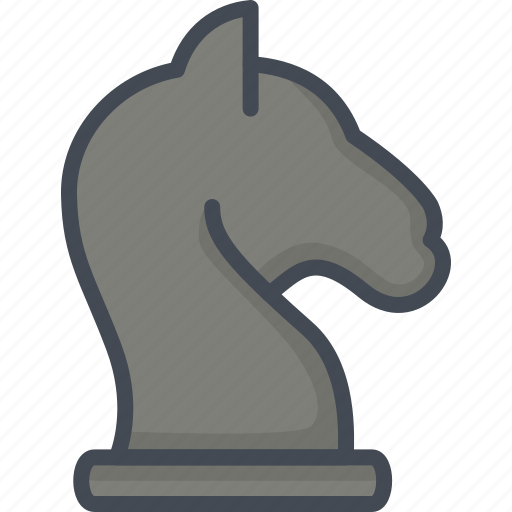 Business, chess, filled, knight, outline, startup icon - Download on Iconfinder