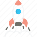 business, launch, rocket, spaceship, start, startup, up icon