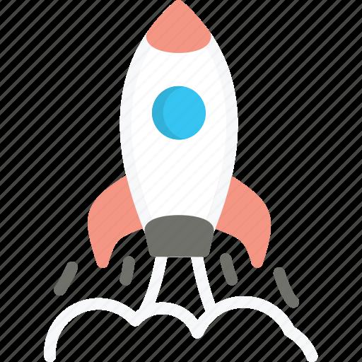 business, launch, rocket, spaceship, start, startup, up icon