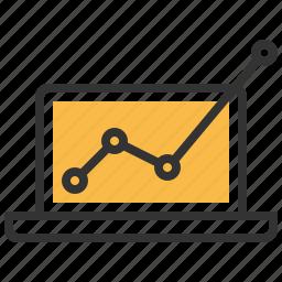 analysis, business, chart, profits, report, statistics icon