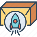 development, launch, product, product release, release, spaceship, startup