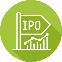 business, initial, modern, offer, public icon