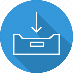 business, mailbox, modern, tray icon