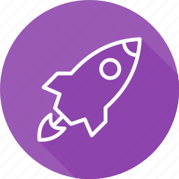 business, launch, modern, startup icon