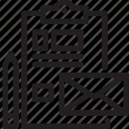 branding, business, company, modern icon