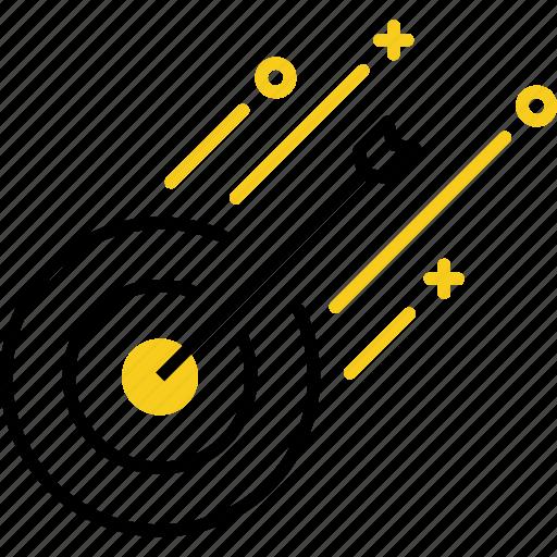 aim, business, marketing, startup, target icon
