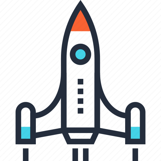 fly, launch, rocket, space, spaceship, start, startup icon