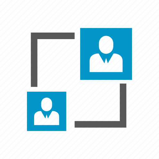 allocation, cooperate, employee, manpower, people, rotate icon