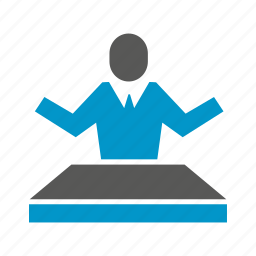 business people, cooperate, desk, people icon