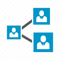 connect, link, people, share icon