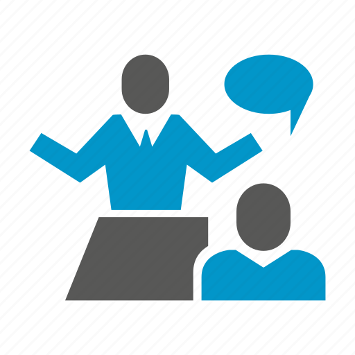 business consulting, communicate, interview, meeting, office, talk icon