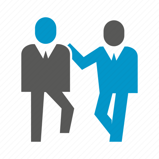 business people, colleague, companion, friend, workmate icon