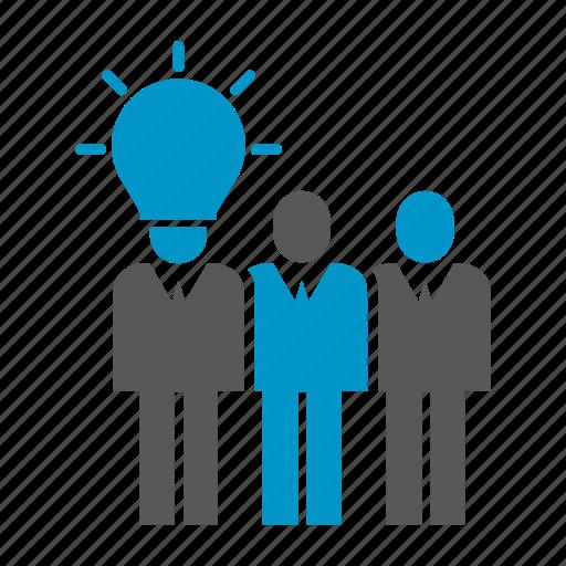 idea, office, organization, people, teamwork icon