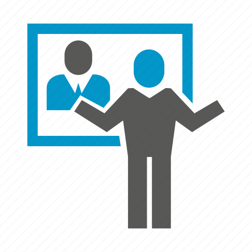 communication, online conference, online meeting, people icon