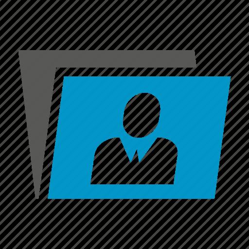document, file, folder, profile icon