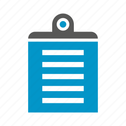 clipboard, document, office, paper icon