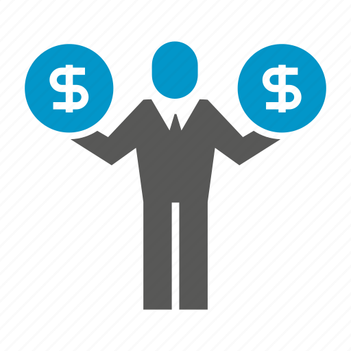 currency, finance, fund, money, people icon