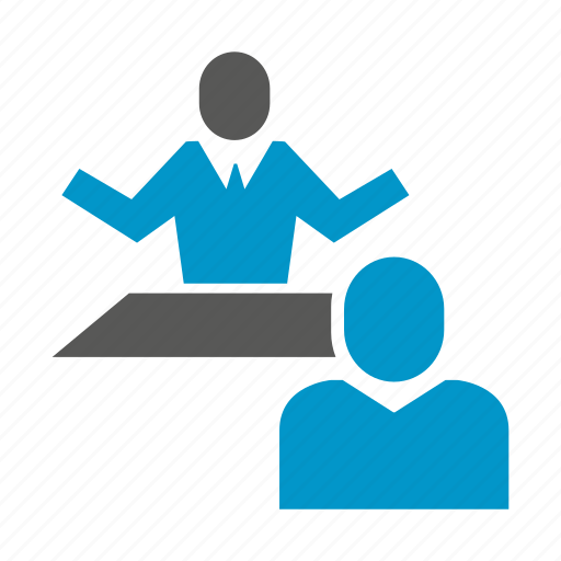 business meeting, consulting, interview, office, people icon