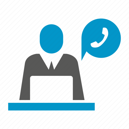 call center, call support, chat, communication, computer, laptop, office icon