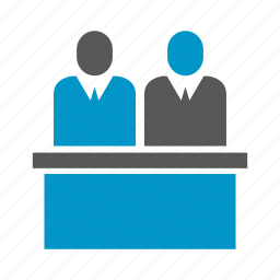 office, people, table icon