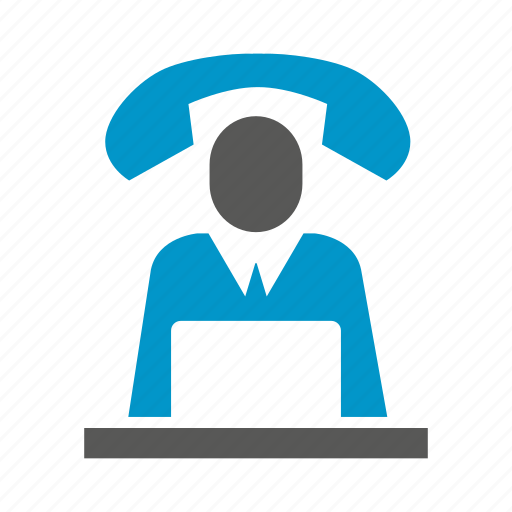 call center, communicate, contact, customer support, phone, working icon