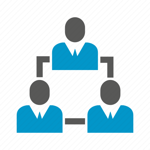 diagram, group, organization chart, people icon