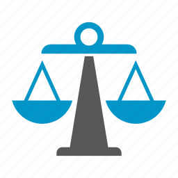 balance scale, justice, law, scale, weight icon