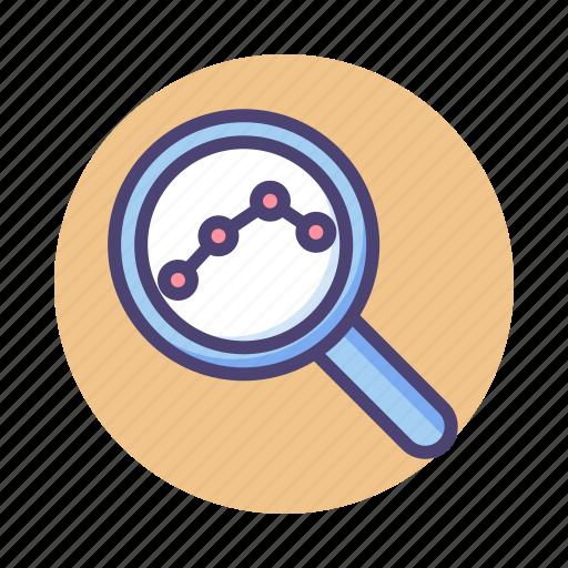 analysis, analytics, forecast, research, trend icon