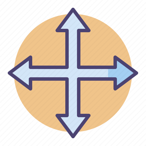 Arrows, direction, move icon - Download on Iconfinder