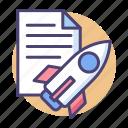plan, rocket, startup plan