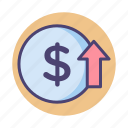 finance, financial, money, profit, revenue icon