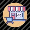 market, shop, store