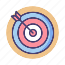 archery, goal, mission, objective, target, vision