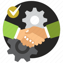 agreement, collaboration, cooperation, deal, handshake, partnership icon