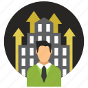 business, company, development, entrepreneur, firm, startup icon