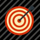 accuracy, arrow, center, dart, hit, success, target