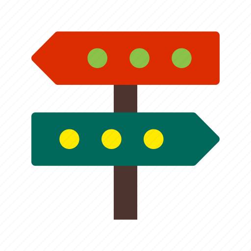 business, choice, decision, direction, path, success, way icon