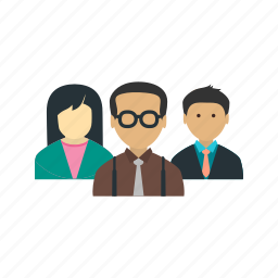 business, conference, group, meeting, office, people, room icon